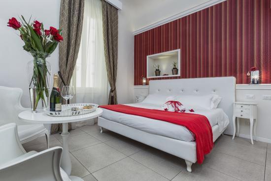 Hotel La Casa di Morfeo: camera doppia Rosa Rossa