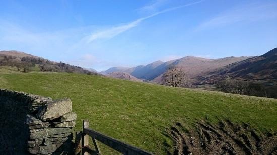 Ivythwaite Lodge: View in the lakes