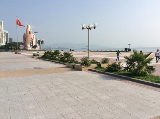Hoang Hai (Golden Sea) Hotel: Samme men med anden vinkel, stor flot og rent