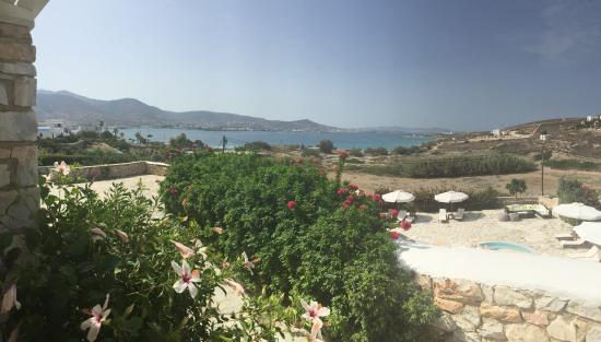 Paros Agnanti Resort: View from the room.
