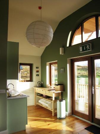 Dromahair, Irland: Kitchen area