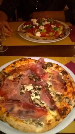 Alla Vecchia Maniera: Pizzas succulentes !