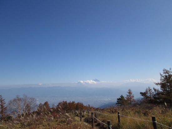Mt. Amari: 甘利山山頂より