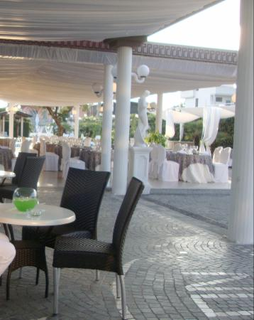 Hotel Nelton - Terrasse