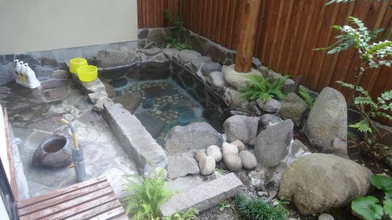 Chikurakutei: お部屋の露天風呂