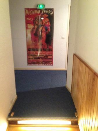 Castera-Verduzan, Francia: La super déco du couloir