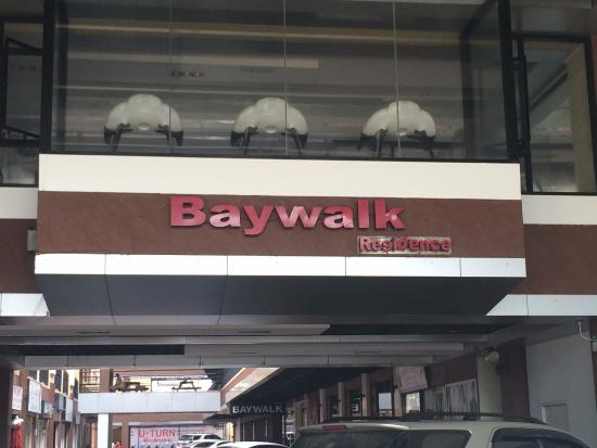 Baywalk Residence Pattaya: 入り口