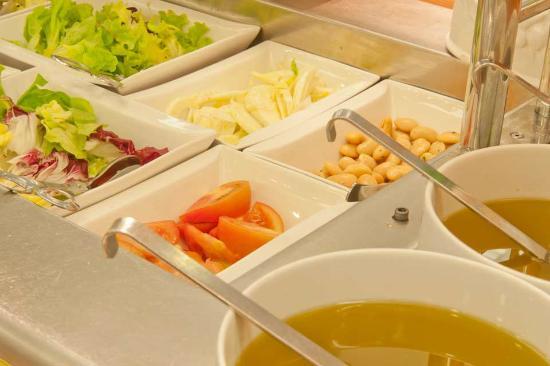 Dogana, San Marino: Buffet insalate