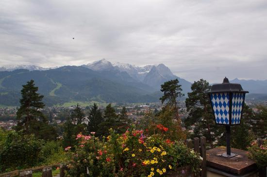 Berggasthof Panorama: Вид из ресторана