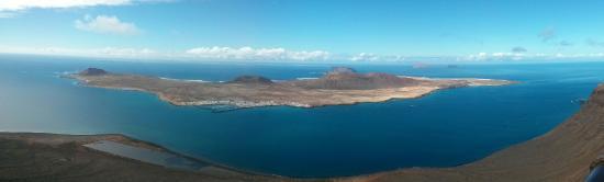Canary Islands, Spanyol: Ile de la Graciosa du Mirador del rio