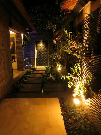 The Zala Villa Bali: Entrance