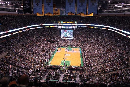 The Banners Picture Of Td Garden Boston Tripadvisor
