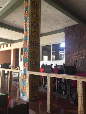 Cliff Edge Hotel - Lalibela: Cliff edge hotel restaurant