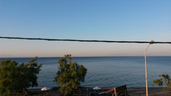 Vatera, Grecia: puur zeezicht!