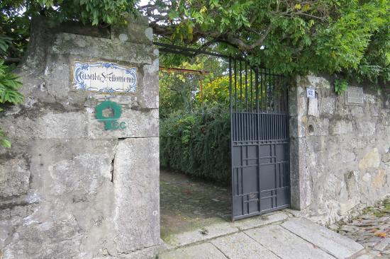 Entrada da Casa Santa Filomena