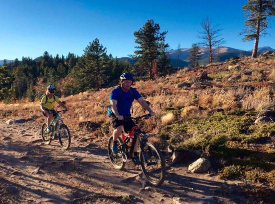 Front Range Ride Guides Ltd Day Tours Out On The Trails With Nick