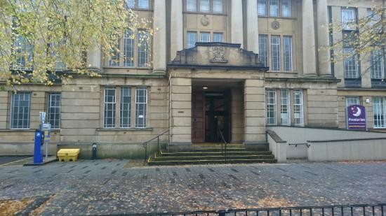 Κόβεντρυ, UK: Main entrance to the building