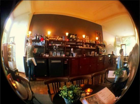 Cafe Madeleine: fish eye view