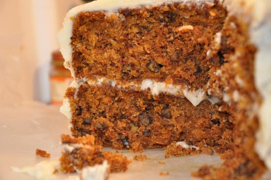 Cafe Madeleine: carrotcake