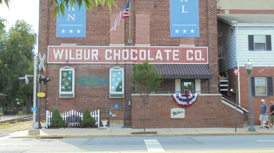 Lititz Springs Park: Wilbur Chocolate Factory