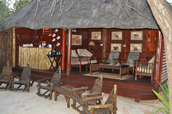 Tsakane Safari Camp: Lounge
