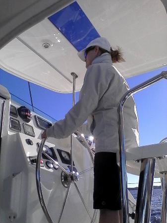 Charleston Sailing School: Helm time