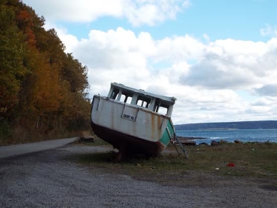 Granville Ferry, Canadá: View of  a Boat