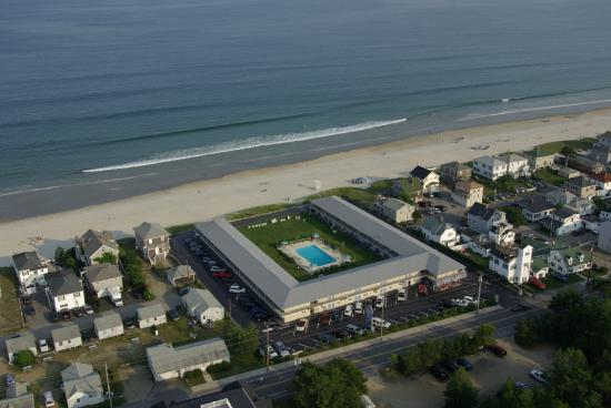 Friendship Oceanfront Suites: Arial view