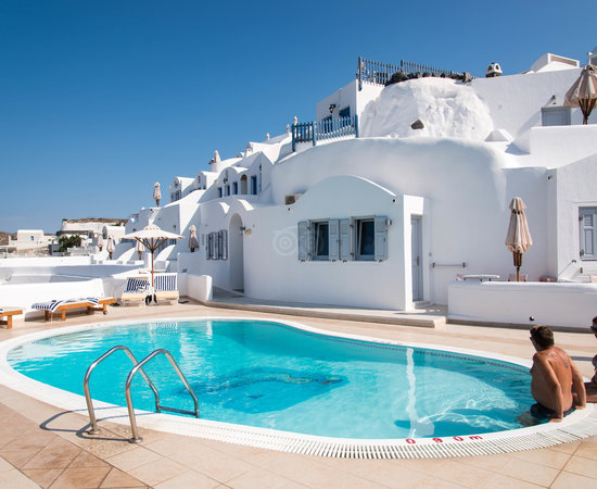 Volcano view hotel santorini 169 2 4 1 updated 2019 prices reviews fira tripadvisor for Hotel a santorin