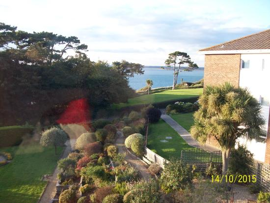 Sentry Mead : View from Totland room