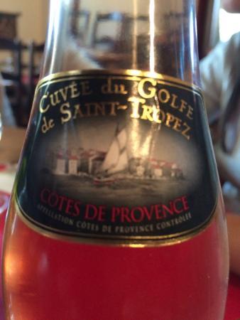 Le Relais De La Tour: Vinho pra acompanhar