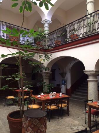 Hotel Parador San Agustin : Breakfast area