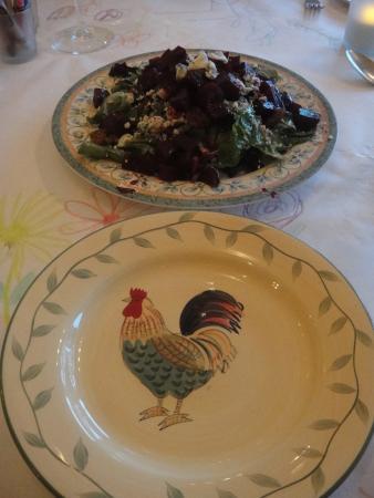 Back Eddy Bistro: Beet salad