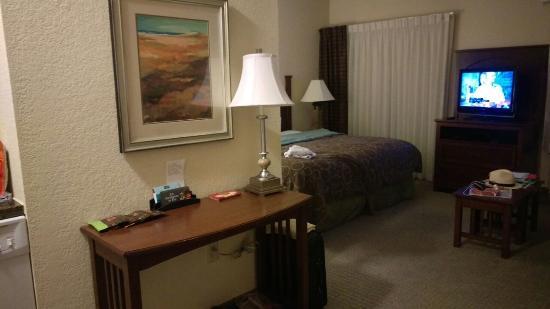 Staybridge Suites San Antonio Sea World : Side Table
