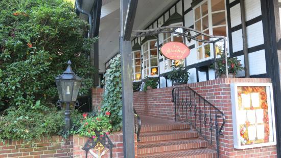 Romantik Hotel Boesehof: Eingang