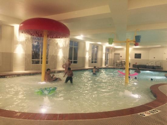 Best Indoor Pool Ever Picture Of Hampton Inn Suites Oklahoma City Airport Oklahoma City Tripadvisor