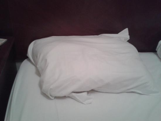 Hotel L'Auberge Autrichienne: small pillows