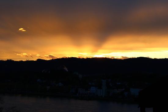 Aschach an der Donau, Austria: Abendstimmung