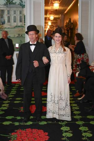 Grand Hotel My Husband And Daughter Dressed For The Promenade During Somewhere In Time