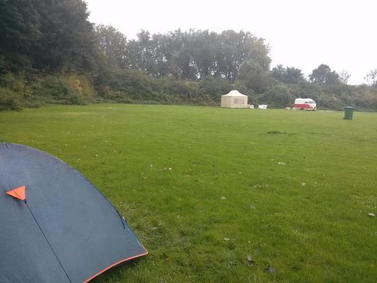 Stadscamping Rotterdam: Area para camping