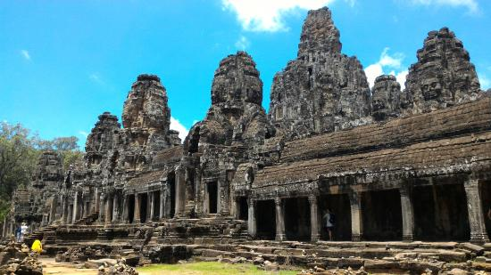 Siem Reap, Cambodge : Bayon Temple