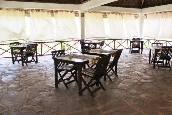 Echo Villas Watamu ( Jua Bahari) : ristorante