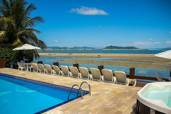 Costa Norte Ponta Das Canas Hotel Florianopolis: vista mar piscina externa 4