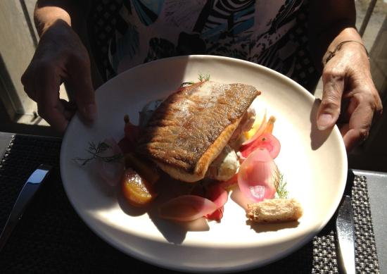 West Kelowna, Canada: Salmon on the Terrace