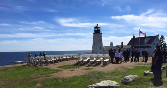 Nice Pemaquid Point Lighthouse: Wedding Set Up Photo Gallery