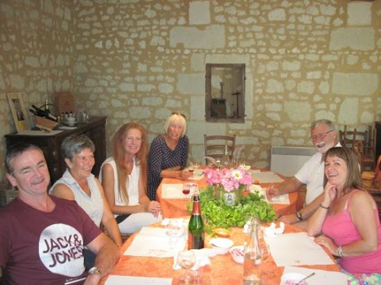 Loire Wine Tours - Day Tours : Five course awesome lunch at Enchantoir...great food, excellent wine, and awesome company.