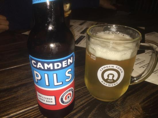 The Fish and Chip Kitchen: lovely lager