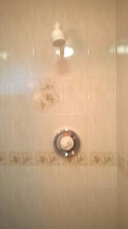 Chequers Plaza Hotel Blackpool : Shower