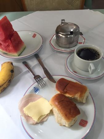 Hotel Columbia : café da manhã