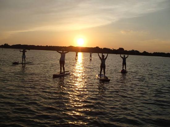 Oldsmar, Flórida: Scenic sunset paddles on Tampa Bay